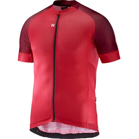 KATUSHA Icon Maillot manches courtes Homme, coral sangre